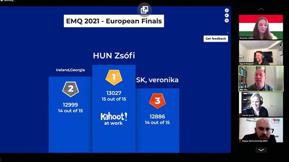 European Money Quiz 2021 - Uczestnicy