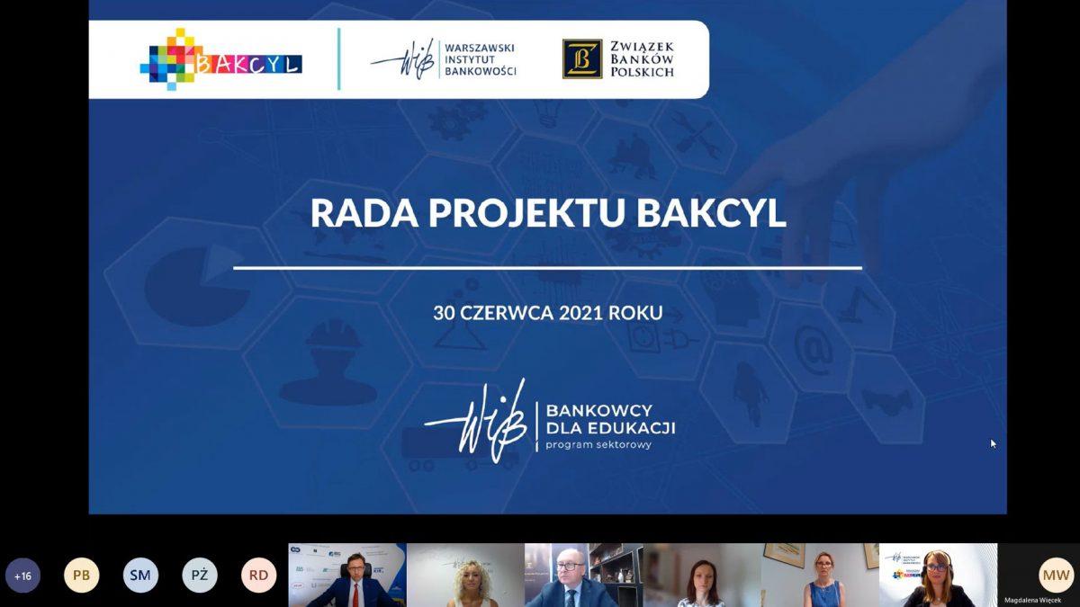 Posiedzenie Rady Projektu BAKCYL - 30 czerwca 2021 r.