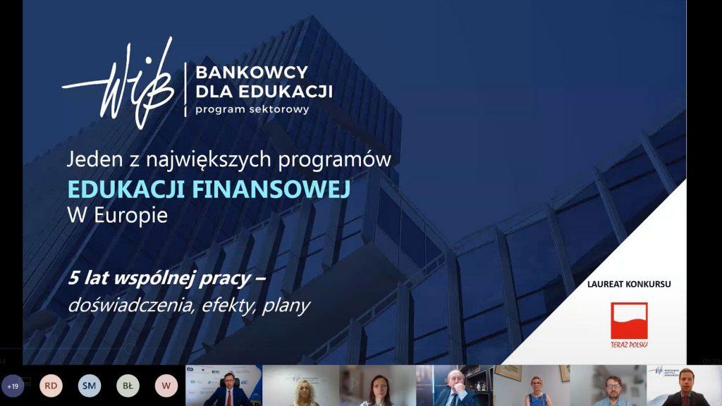 Posiedzenie Rady Projektu BAKCYL - 30 czerwca 2021 r. - Prezentacja BDE - Bankowcy dla Edukacji - Michał Polak